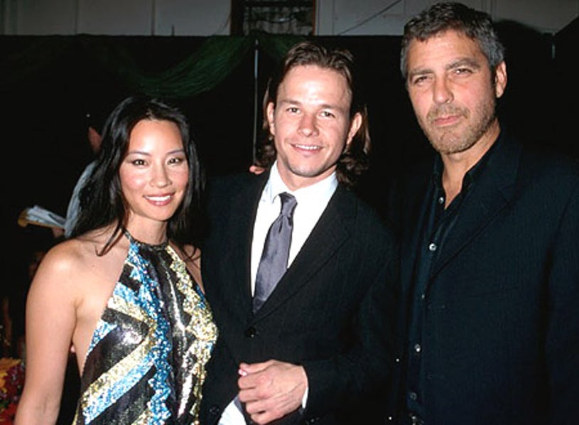 Lucy Liu, Mark Wahlberg and George Clooney - The 9th Annual MTV Movie Awards, June 3, 2000
