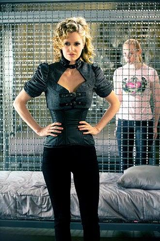 """True Blood - Season 5 - """"Save Yourself"""" - Kristin Bauer van Straten and Deborah Ann Woll"""