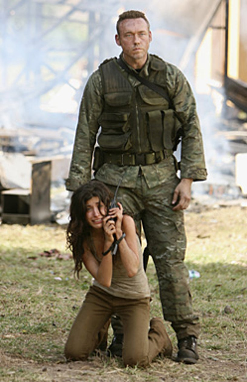 """Lost - Season 4 - """"The Shape of Things to Come"""" - Tania Raymonde, Kevin Durand"""