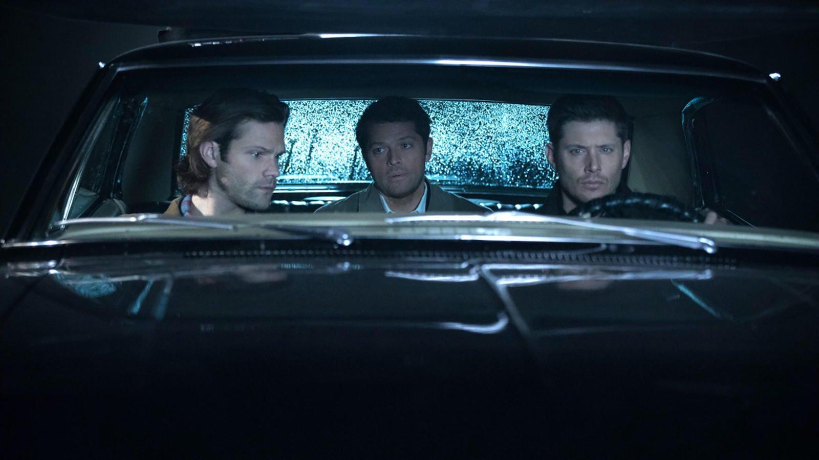 Jared Padalecki, Misha Collins, and Jensen Ackles, Supernatural