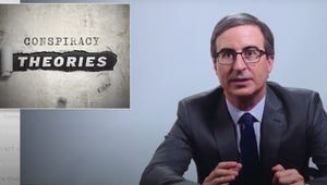 John Oliver Enlists Alex Trebek, Billy Porter, Catherine O'Hara, and More to Debunk COVID-19 Conspiracy Theories