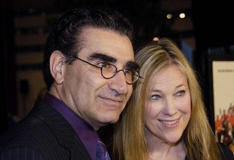 """Eugene Levy and Catherine O'Hara - """"A Mighty Wind"""" premiere, April 14, 2003"""