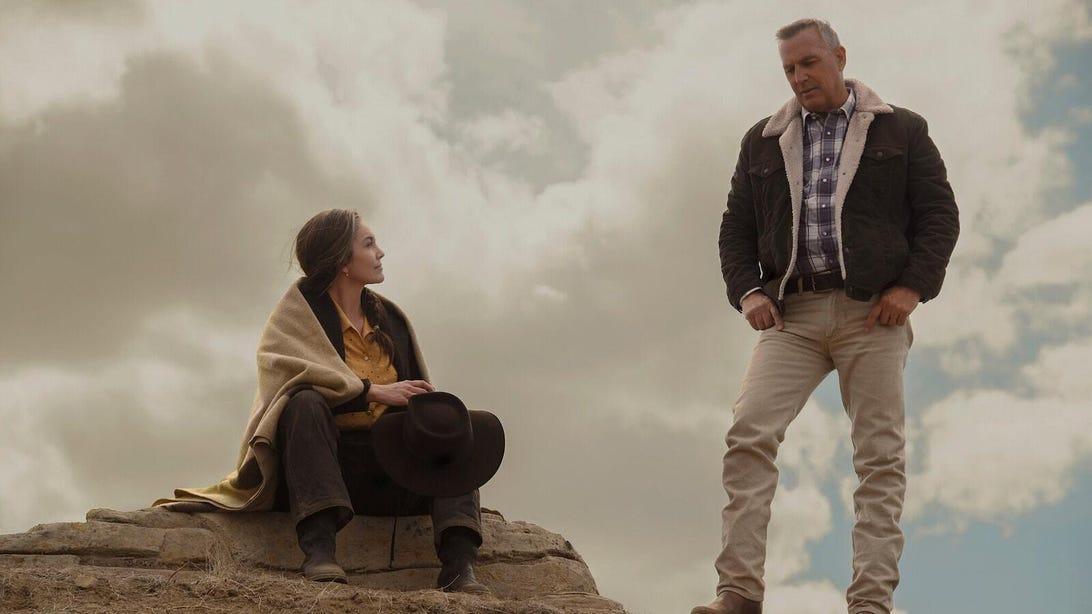 Diane Lane and Kevin Costner, Let Him Go