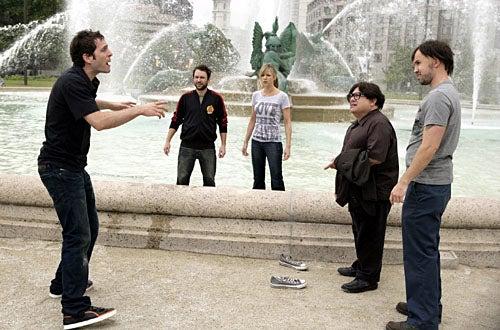 It's Always Sunny in Philadelphia - Season 4 - Glenn Howerton as Debbus, Charlie Day as Charlie, Kaitlin Olson as Sweet Dee, Danny DeVito as Frank, Rob McElhenney as Mac