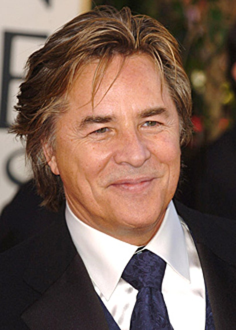 Don Johnson - The 63rd Annual Golden Globe Awards - 2006