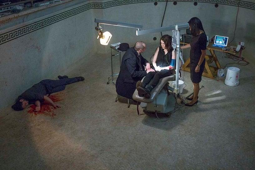 "The Blacklist - Season 2 - ""Luther Braxton: Conclusion"" - James Spader, Megan Boone and Gloria Reuben"