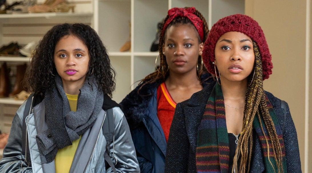 Naiya Ortiz, Brittany Adebumola, Odley Jean, and Crystal Sha're Nelson, Grand Army