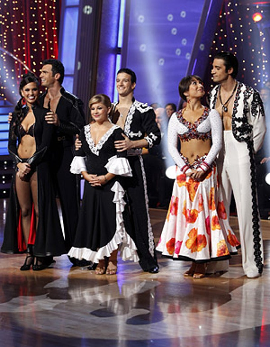 Dancing With The Stars - Season 8 - Melissa Rycroft, Tony Dovolani, Shawn Johnson, Mark Ballas, Cheryl Burke and Gilles Marini