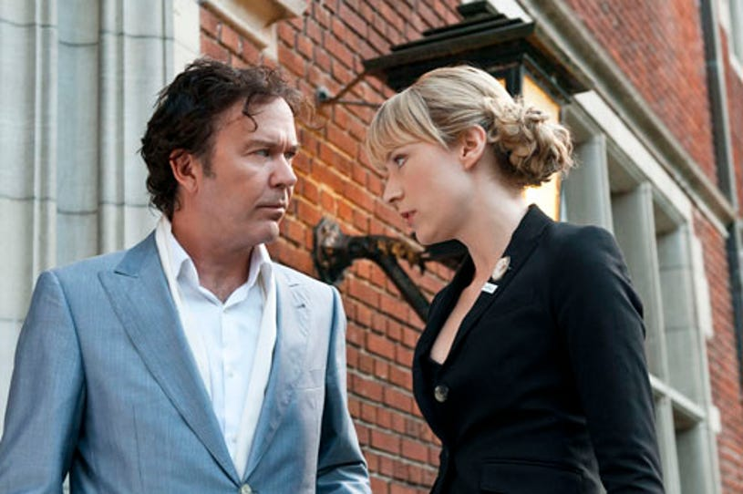 """Leverage - Season 3 - """"The King George Job"""" - Timothy Hutton and Beth Riesgraf"""