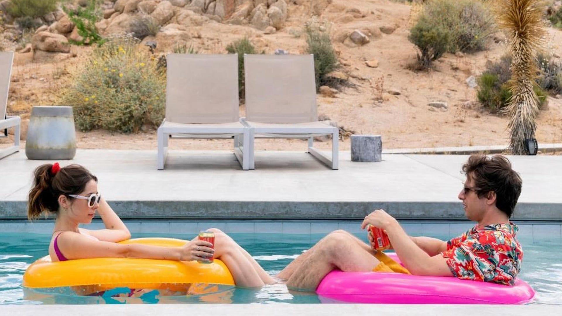 Cristin Milioti and Andy Samberg, Palm Springs