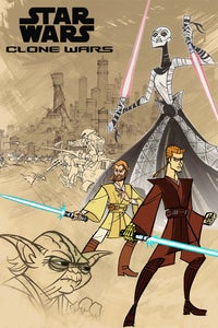 Star Wars: Clone Wars---'The Epic Micro Series' as Capt. Typho/Battle Droids