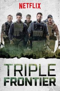 "Triple Frontier as William ""Ironhead"" Miller"
