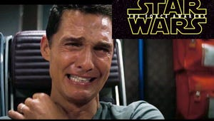 Matthew McConaughey's Interstellar Reaction Mashup with Star Wars Is Everything