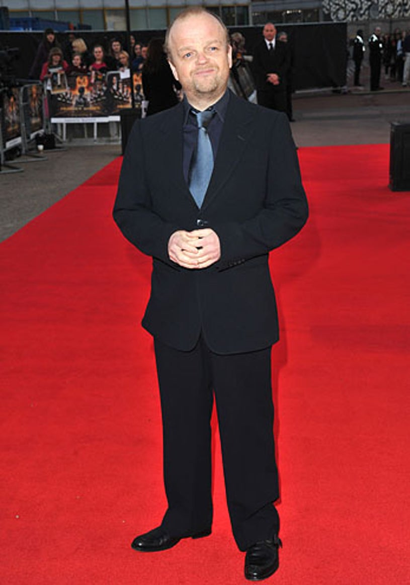 Toby Jones - The European premiere of The Hunger Games in London, March 14, 2012