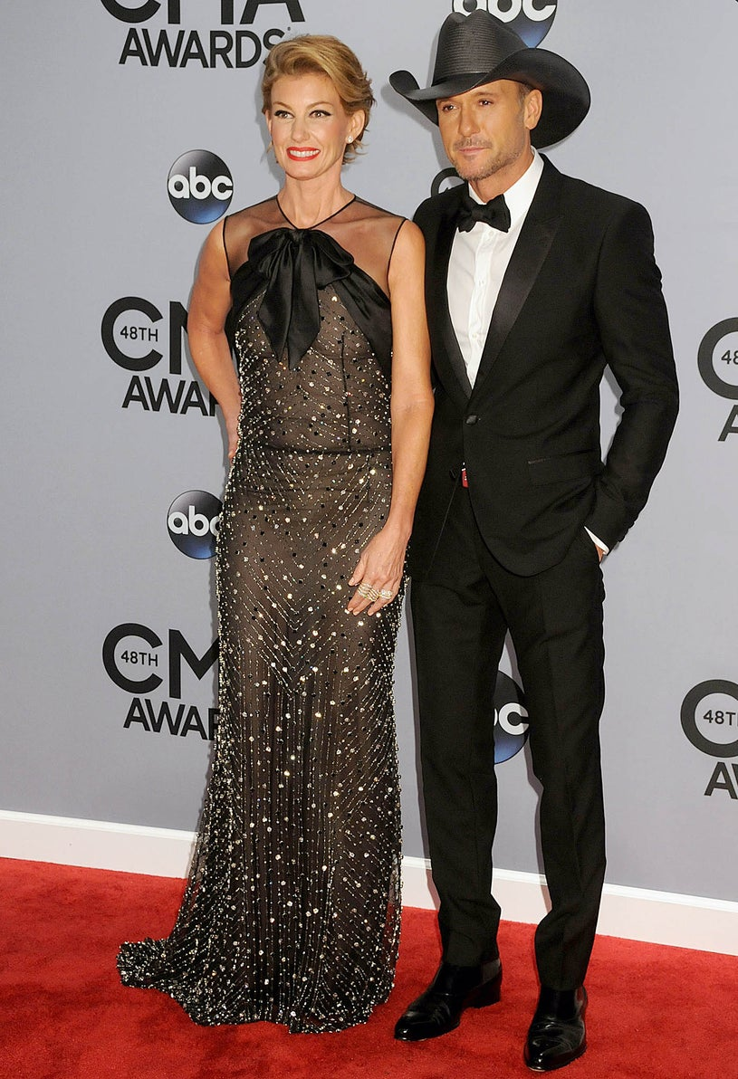 Faith Hill and Tim McGraw - 47th CMA Awards in Nashville, Tennessee, November 5, 2014