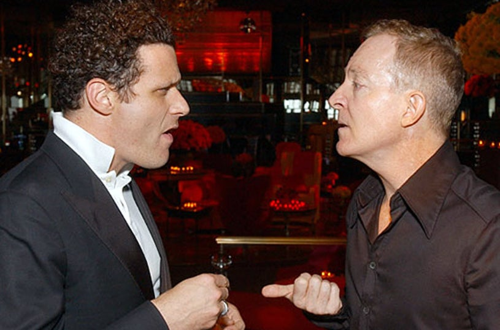 Isaac Mizrahi and Fred Schneider - 2003