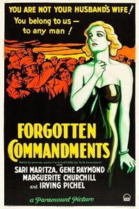 Forgotten Commandments as Paul Ossipoff