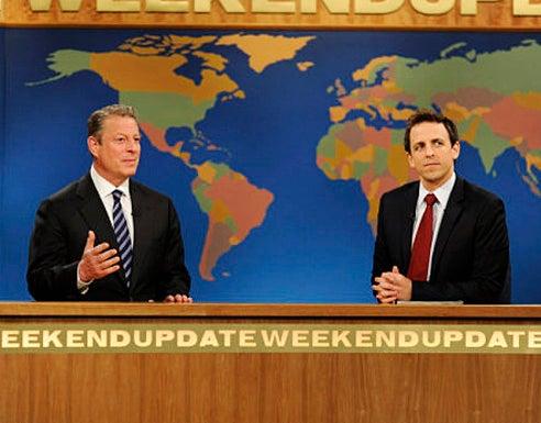 "Saturday Night Live - Season 35 - ""Joseph Gordon-Levitt"" Episode 1561 - Al Gore, Seth Meyers"