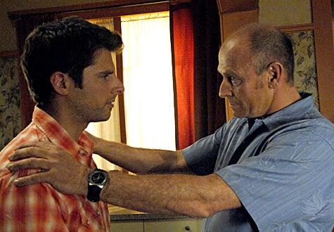 "Psych - Season 2, ""Psy vs Psy"" - James Roday as Shawn Spencer, Corbin Bernsen as Henry Spencer"