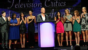 Glee Tops the Television Critics Awards