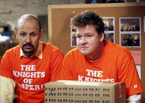 The Knights of Prosperity - Pilot Episode - Maz Jobrani as Gary, Donal Logue as Eugene