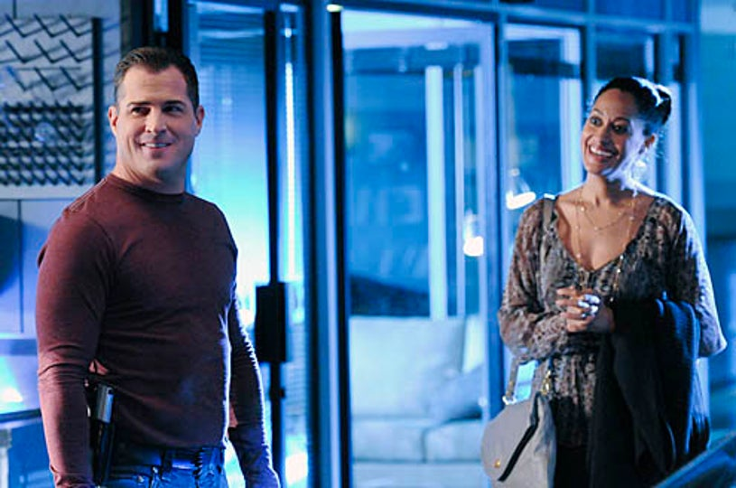 """CSI - Season 11 - """"All That Cremains"""" - George Eads as Nick Stokes and Tracee Ellis Ross as Gloria Parkes"""