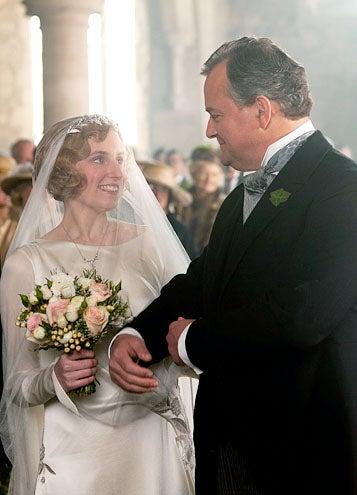 Downton Abbey - Season 3 - Laura Carmichael and Hugh Bonneville