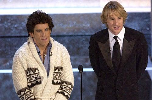 Ben Stiller and Owen Wilson - The 76th Annual Academy Awards, February 29, 2004
