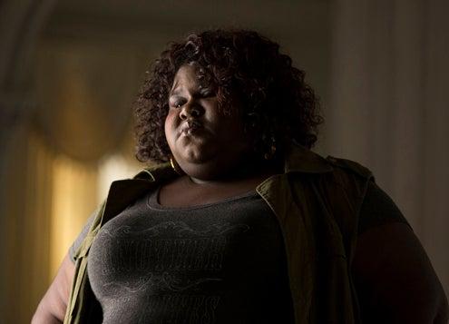 "American Horror Story: Coven - ""Boy Parts"" - Gabourey Sidibe as Queenie"