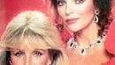 Linda Evans and John Forsythe ...