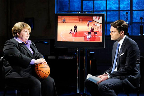 "Saturday Night Live - Season 38 - ""Melissa McCarthy"" - Melissa McCarthy and Bill Hader"