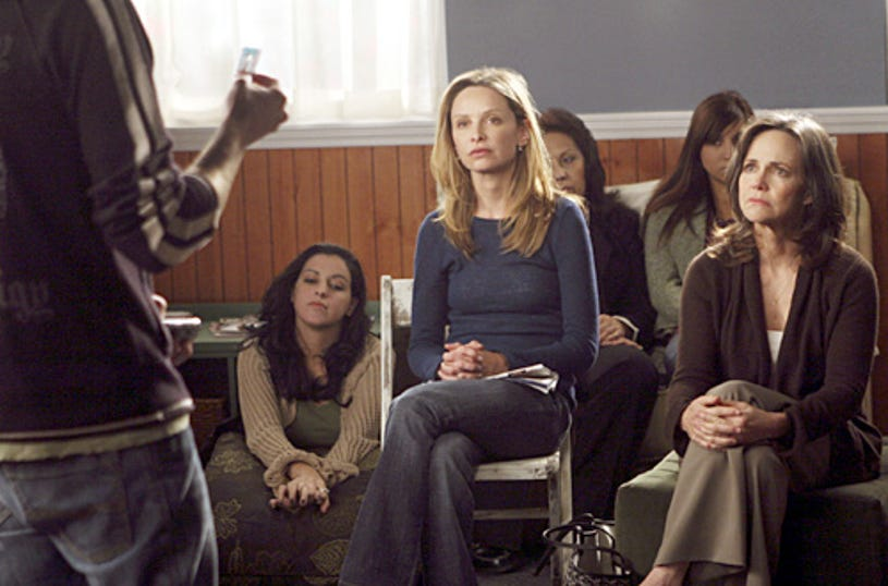 """Brothers & Sisters - """"Family Day"""" - Calista Flockhart as Kitty, Sally Field as Nora"""