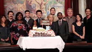 Top Videos: Parks and Rec Celebrates 100 Episodes, Dennis Rodman Has a Meltdown