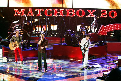 "The Voice - Season 3 - ""Live Results Show"" - Matchbox 20"