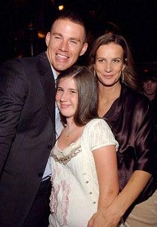 "Channing Tatum, Gracie Hamilton and Rachel Griffiths - ""Step Up"" Los Angeles Premiere - 2006"