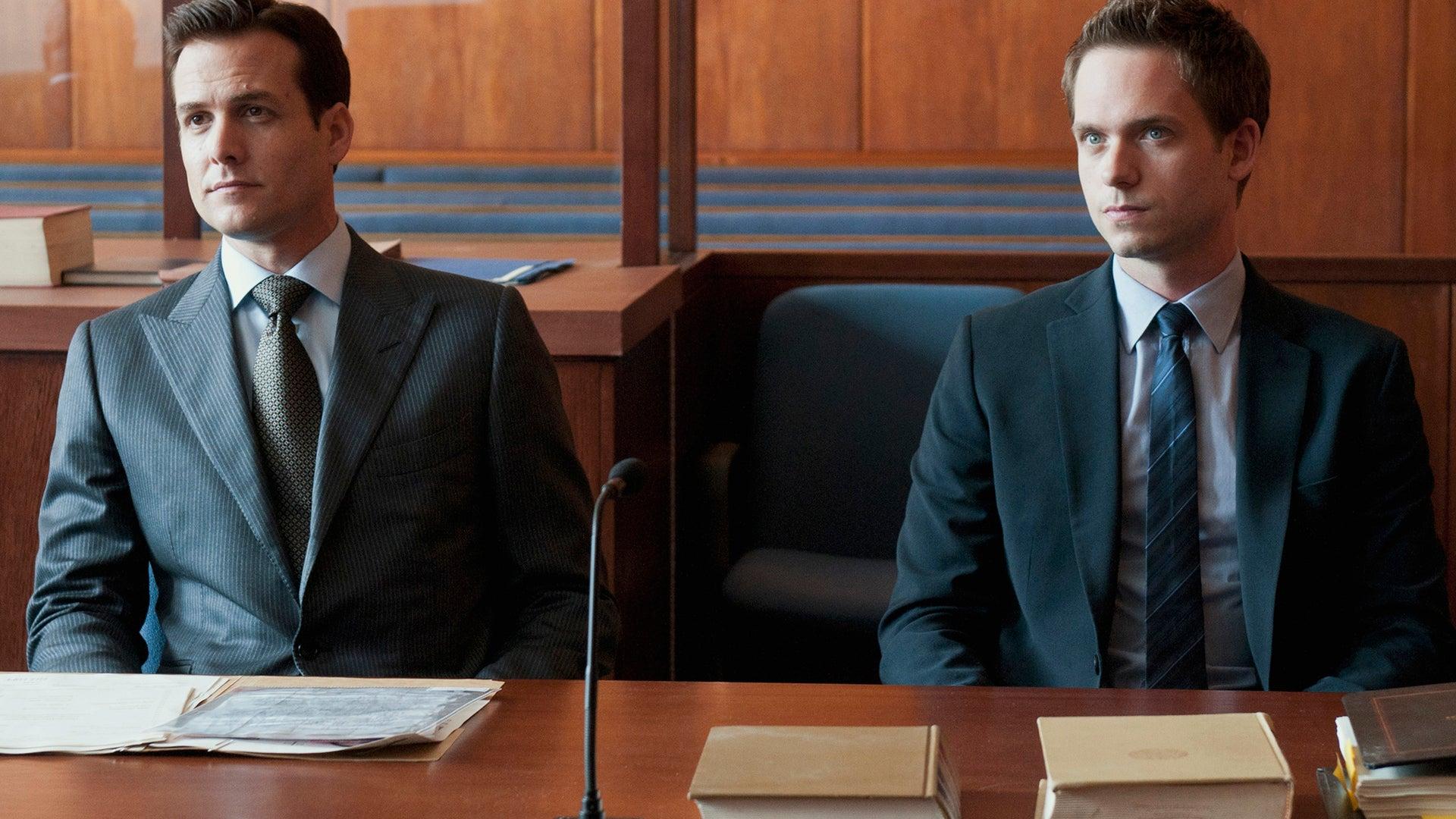 Gabriel Macht and Patrick J. Adams, Suits