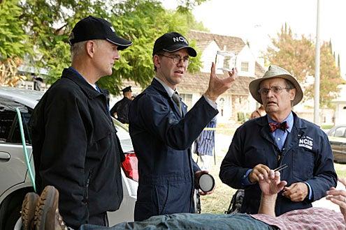 "NCIS - Season 7 - ""Code of Conduct"" - Mark Harmon, Jimmy Palmer and David McCallum"