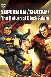 Superman/Shazam!: The Return of Black Adam as Superman/Clark Kent