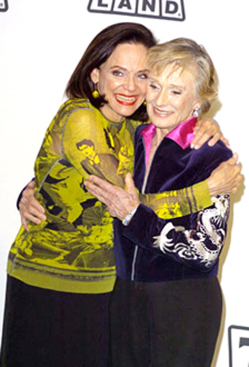 Valerie Harper and Cloris Leachman - TV Land Award, March 2004