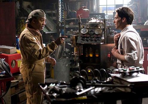 "Eureka - Season 4 - ""All the Rage"" - Joe Morton and James Callis"