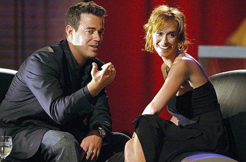 Carson Daly and Jennifer Love Hewitt - MTV Bash - 2003