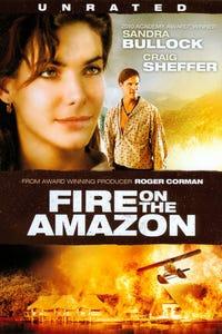 Fire on the Amazon as Sandra