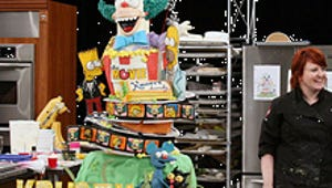 Mmm, Cake... Food Network Serves Up The Simpsons