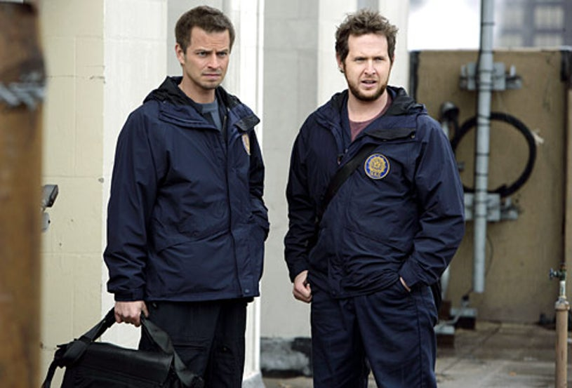 "CSI: NY - Season 5 - ""No Good Deed"" - Carmine Giovinazzo, A.J. Buckley"
