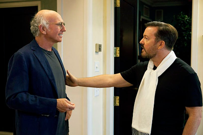 Curb Your Enthusiasm - Season 8 - Larry David and Ricky Gervais