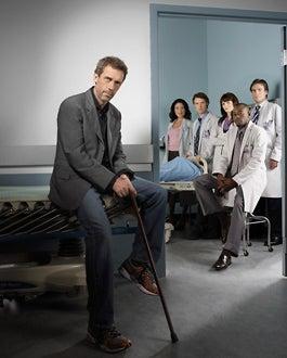 House - Season 3 - Hugh Laurie, Lisa Edelstein, Jesse Spencer, Jennifer Morrison, Omar Epps and Robert Sean Leonard
