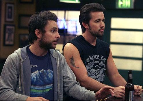 It's Always Sunny in Philadelphia - Season 5 - Charlie Day as Charlie and Rob McElhenney as Mac