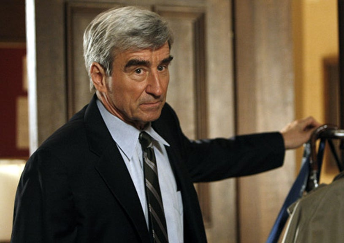 "Law & Order - Season 19 - ""Lost Boys"" - Sam Waterston as District Attorney Jack McCoy"