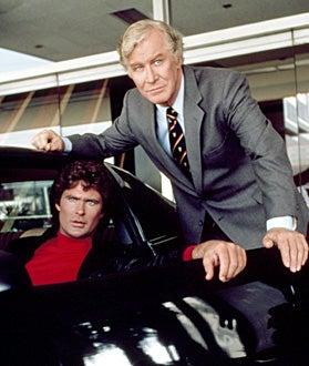 Knight Rider - David Hasselhoff and Edward Mulhare