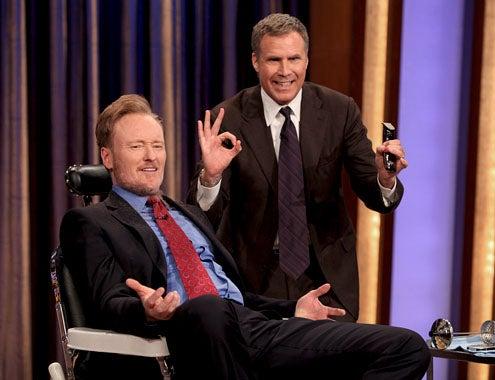 Conan - Season 1 - Will Ferrell shaves Conan O'Brien's beard